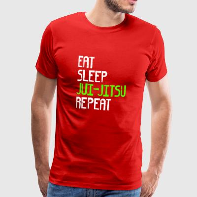 EAT SLEEP JUI JITSU REPEAT - T-shirt Premium Homme
