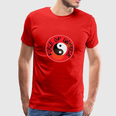 Force of universe | ying yang | chinese medicine - Männer Premium T-Shirt
