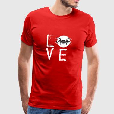 Spiders love owners Gift Love - Men's Premium T-Shirt