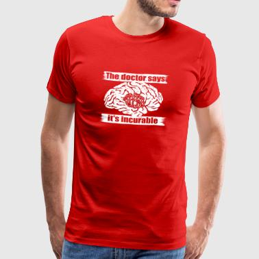 doctor incurable says bowling bowler kegeln png - Männer Premium T-Shirt