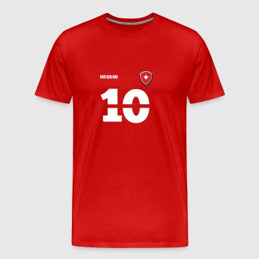 Switzerland jersey retro jersey 2018 Style - Men's Premium T-Shirt