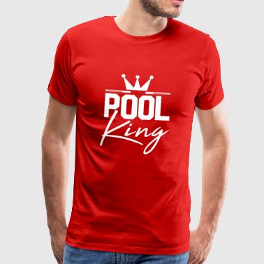 Pool King Pool gave - Herre premium T-shirt