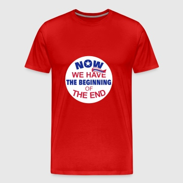 Now we have the beginning of the end button - Men's Premium T-Shirt