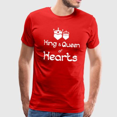 King and queen of Hearts 3 - Men's Premium T-Shirt