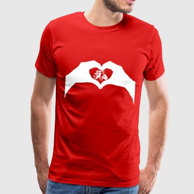 Love tractor - Men's Premium T-Shirt