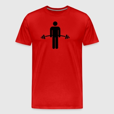 Lift  - Premium-T-shirt herr