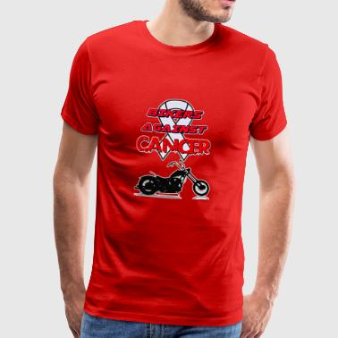 Bikers contre le cancer - T-shirt Premium Homme
