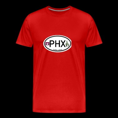 City Phoenix Sticker Cars - Premium-T-shirt herr