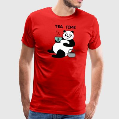 JLB Its tea time 08082017 1 - Männer Premium T-Shirt