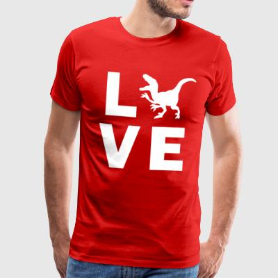 Love Dino - Men's Premium T-Shirt