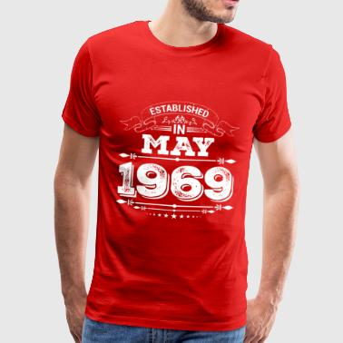 Established in May 1969 - Men's Premium T-Shirt
