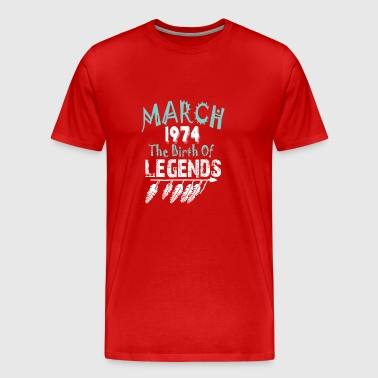 March 1974 The Birth Of Legends - Men's Premium T-Shirt