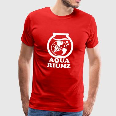 aquarium wite - Men's Premium T-Shirt