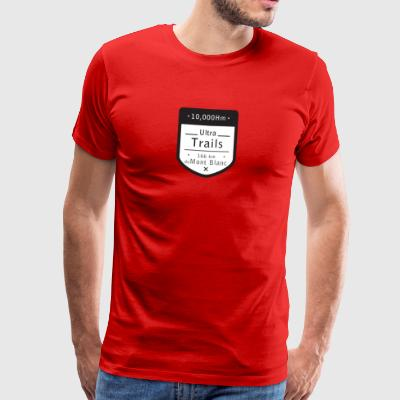Ultra Trail Mont Blanc t shirt - Premium T-skjorte for menn