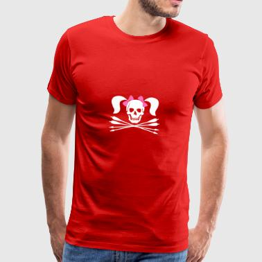 Pirate Archer Girl - T-shirt Premium Homme