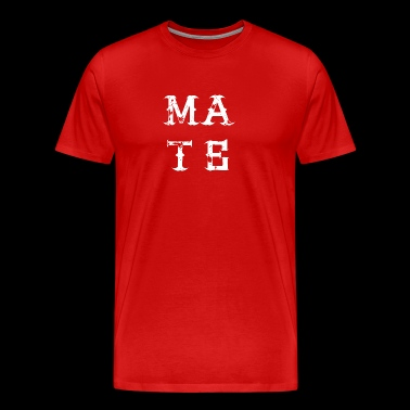 MATE SOUL bestie best friend love partner - Men's Premium T-Shirt