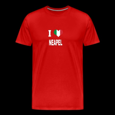I Love Italy NAPLES - Men's Premium T-Shirt