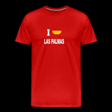 I Love Spain LAS PALMAS - Men's Premium T-Shirt