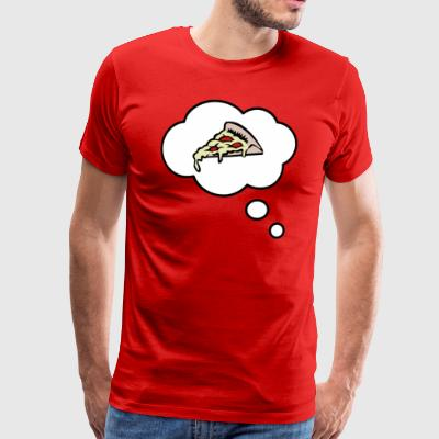 Pizza design gift - Men's Premium T-Shirt