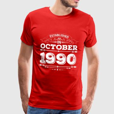 Established in October 1990 - Men's Premium T-Shirt