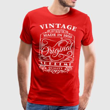 Vintage Made in 1950 Original - Men's Premium T-Shirt