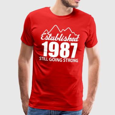 Established 1987 and still going strong - Men's Premium T-Shirt
