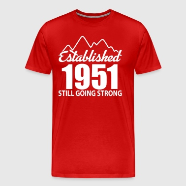 Established 1951 and still going strong - Men's Premium T-Shirt
