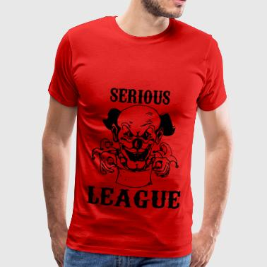 ernstige League - Mannen Premium T-shirt
