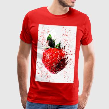 Wild Strawberry - Herre premium T-shirt