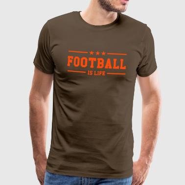 Football is life ! - Men's Premium T-Shirt