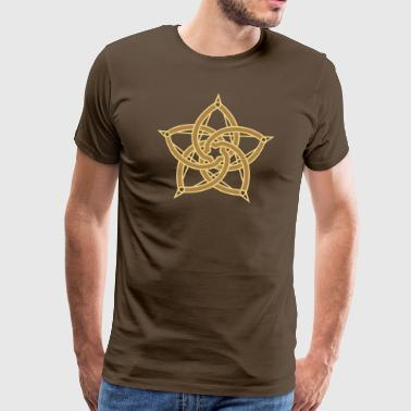 Pentagram & Venus Flower - Protection & Balance / - Men's Premium T-Shirt