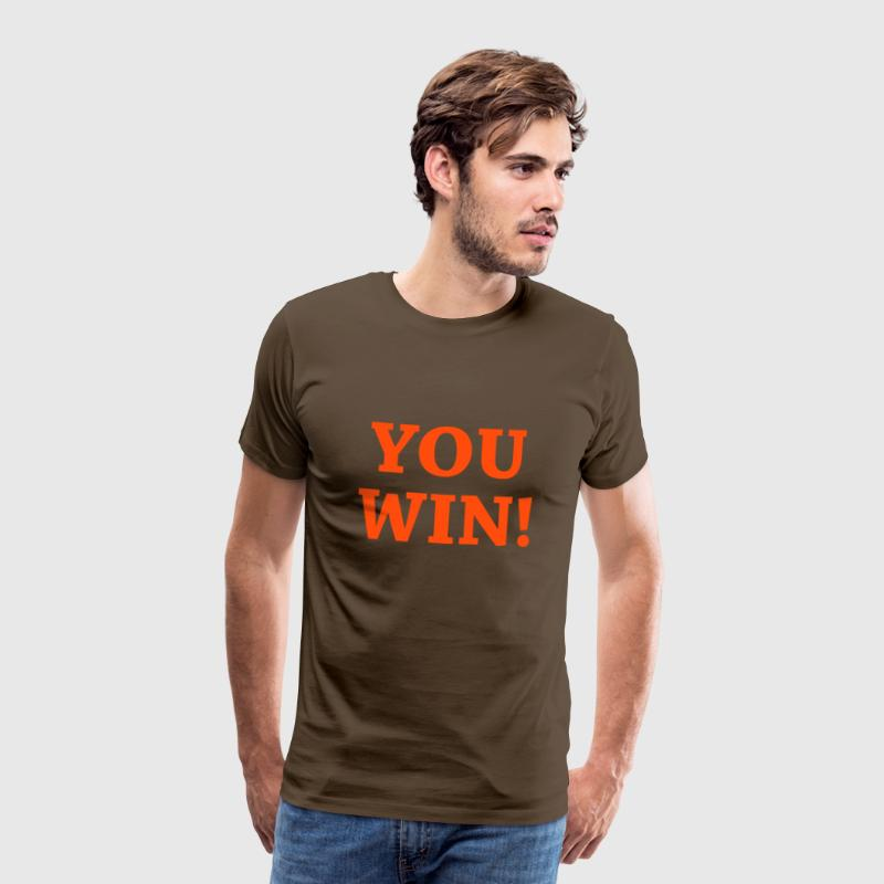 You win ! - Men's Premium T-Shirt
