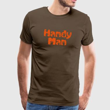 handy man - Men's Premium T-Shirt