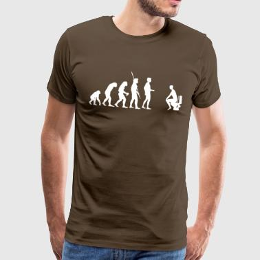 Evolution toilettes  - T-shirt Premium Homme