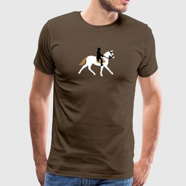 dressage - Men's Premium T-Shirt
