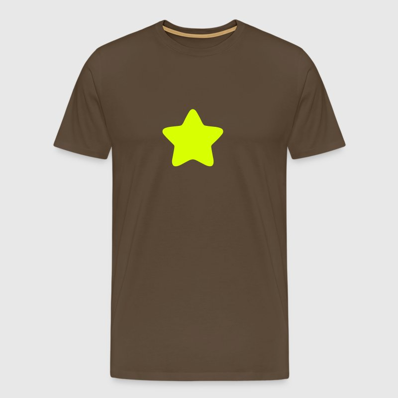 Star rounded edge Star 3 - Men's Premium T-Shirt