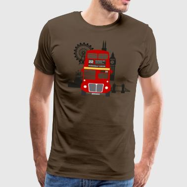 England, London, sightseeing, - Männer Premium T-Shirt