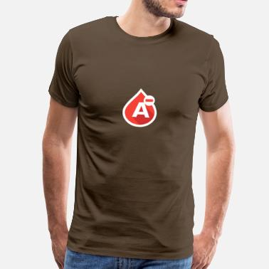 Blood Donor Blood group A- - Men's Premium T-Shirt