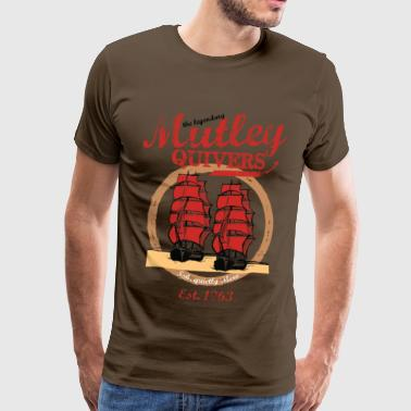 Two Ships vintage style - Men's Premium T-Shirt