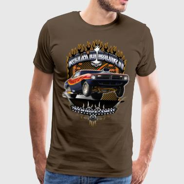 Barracuda Road Burn T-Shirts - Mannen Premium T-shirt
