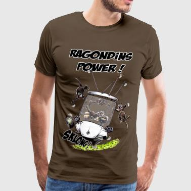 Ragondins Power ! - T-shirt Premium Homme