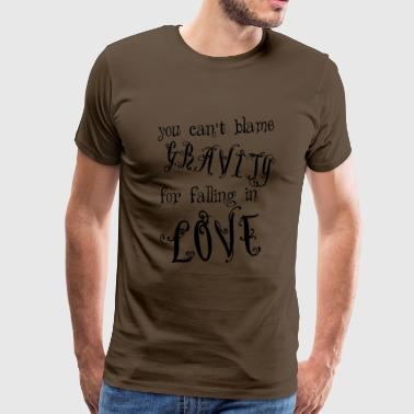 Love gravity eu - Men's Premium T-Shirt