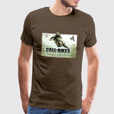 Call of MTB - T-shirt Premium Homme