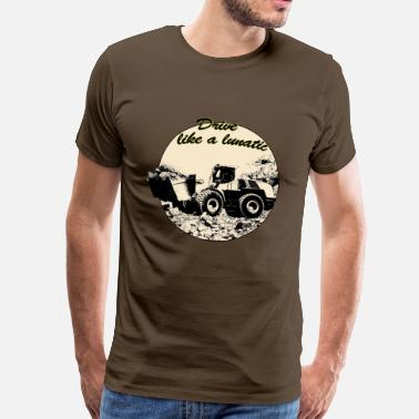 Baumaschine wheel_loader - Männer Premium T-Shirt