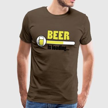 Beer is loading... - Männer Premium T-Shirt