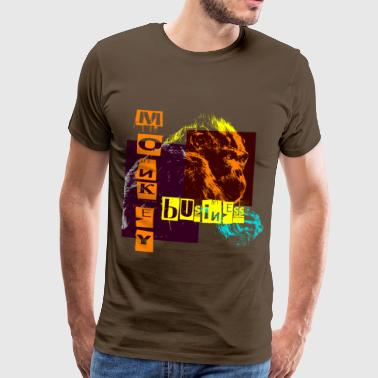 monkey business - Camiseta premium hombre