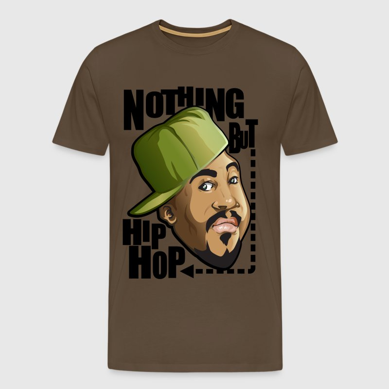 Nothing but hip hop - T-shirt Premium Homme