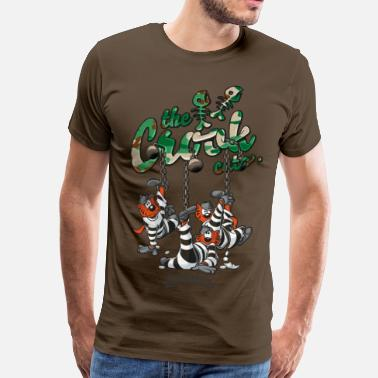 Crook Cats thecrookcats_traplife #Camo - T-shirt Premium Homme