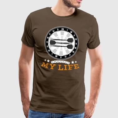 Darts Changed My Life - Men's Premium T-Shirt