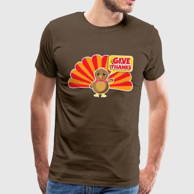 Thanksgiving Thanksgiving Thanksgiving - Men's Premium T-Shirt